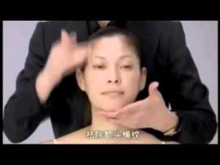 Японский массаж лица Асахи Зоган)   Русская озвучка  Yukuko Tanaka's Face massage Zogan (Asahi)