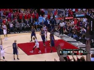 HD Memphis Grizzlies vs Portland Trail Blazers | Highlights | Game 4 | Apr 27, 2015 | NBA Playoffs
