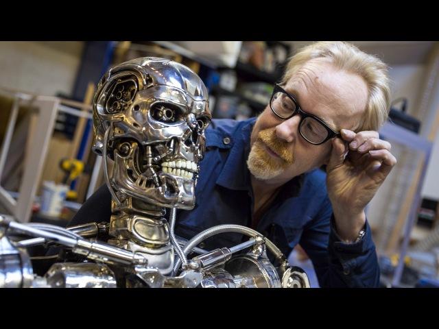 Adam Savage's Terminator T 800 Endoskeleton