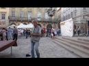 Бомж танцует Львов, Украина