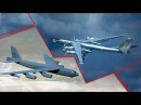 Ту 95 Медведь против Крепости B 52 поединок бомбардировщиков