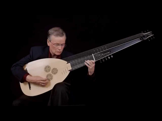 J.S. Bach: Partita in A Minor, Allemande BWV 1013; David Tayler, archlute