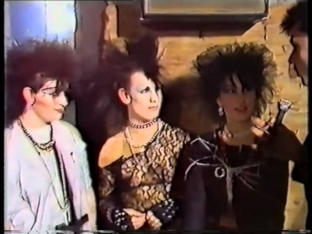 THE HEIGHT OF GOTH 1984 A Night at the Xclusiv Nightclub Batley, West Yorkshire UK
