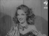 An interview with Carmen Miranda at the London Palladium (1948)