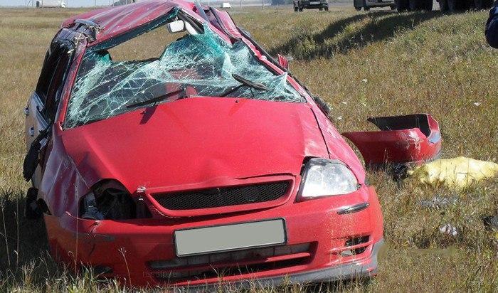 Вчера на трассе «Таганрог - Мариуполь» Toyota Corolla Fielder столкнулась с «ГАЗ-53»
