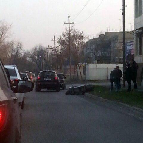 В Таганроге произошло ДТП с участием скутериста