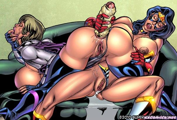 Порно супергероиня