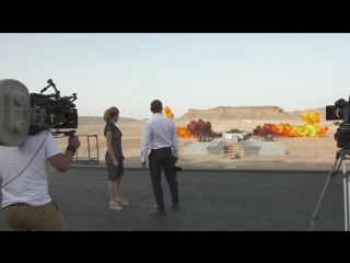 Spectre Behind the Scenes - Largest Film Explosion (2015) -  Daniel Craig, Christoph Waltz Action HD