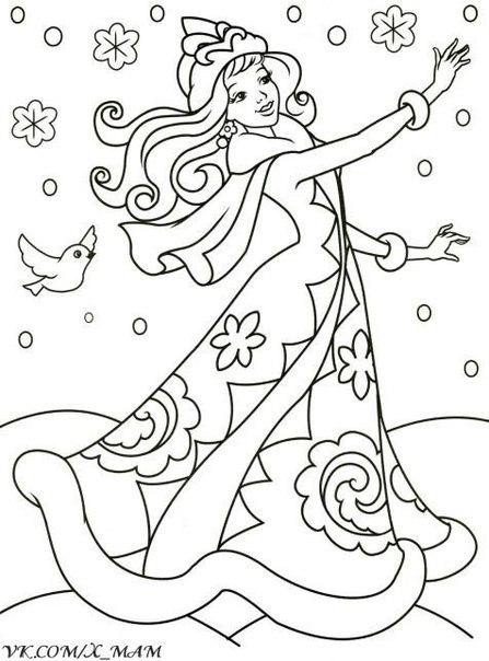 Новогодние раскраски 🎨 Сохраняйте на стену 😉