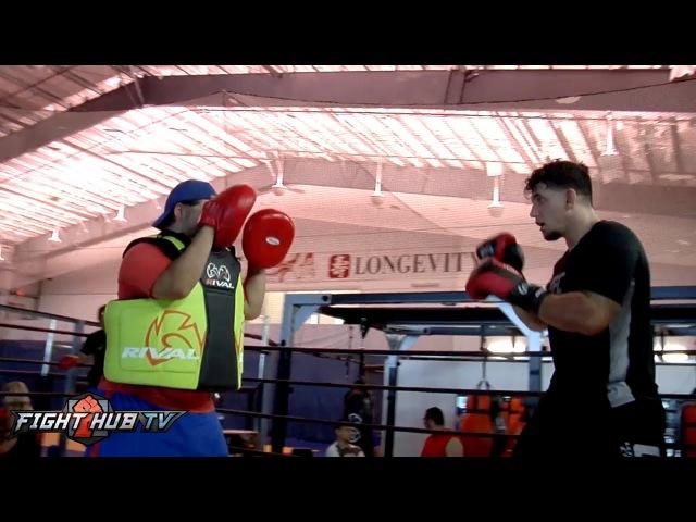 Frank Mir vs Todd Duffee full video Mir boxing workout video feat Ana Julaton