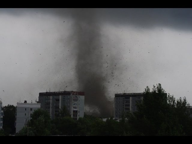 Ураган, смерч, торнадо в Казани 07.09.2015