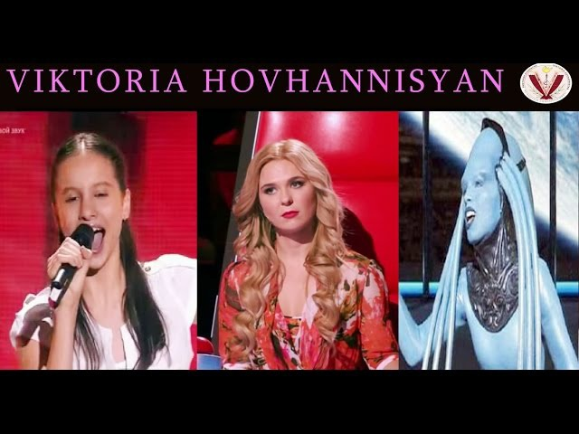 Девочка вживую спела арию из «Пятого элемента» Виктория Оганисян.Victoria Hovhannisyan