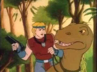 Погонщики динозавров 1-2-3-4-5 серии.1988г.