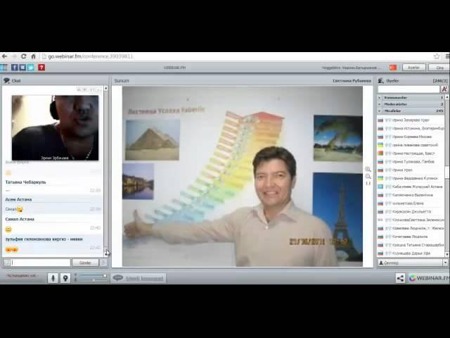 Эркин Эрбачаев - Как проводить Презентацию возможностей Фаберлик (ужасное качество записи)
