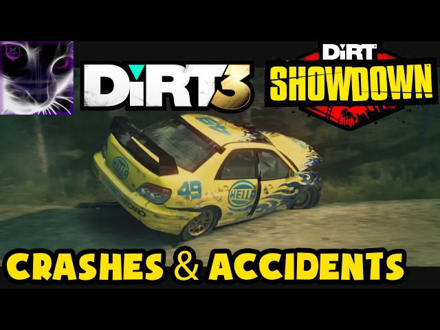 DiRT 3 / Showdown - Crashes and Accidents Compilation 1
