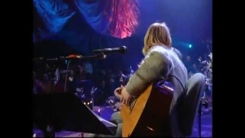 Nirvana Come As You Are Unplugged In New York