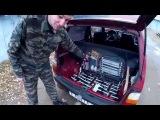 Электро ОКА (электромобиль) выезд №14 LiFePo4 (14 шт.) 08.11.15 - electric car VAZ 1111 OKA