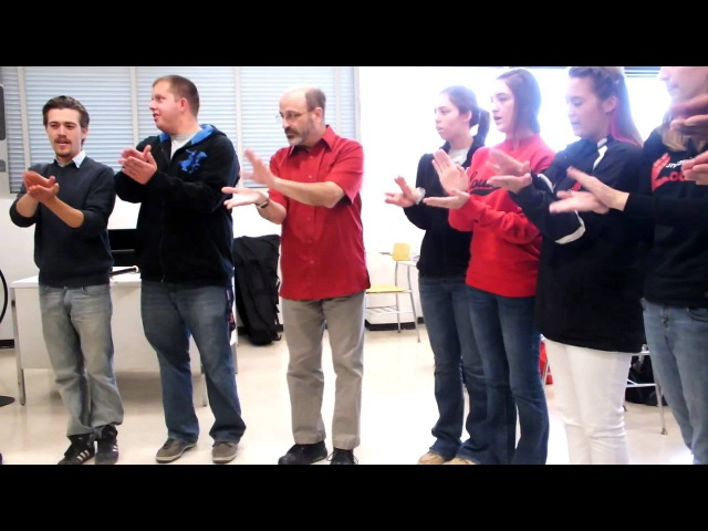 Rob Amchin—University of Louisville— One Bright and Sunny Morning (round) lesson Кукушка канон