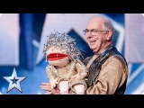 Magician and handyman Jeffrey is a jack of all tricks  Audition Week 2  Britain's Got Talent 2015