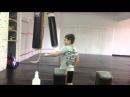 Опасный будущий боец Давид! Мой ученик6 лет