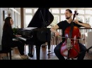 Nothing Else Matters - Metallica Piano Cello Cover - Brooklyn Duo