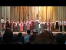 Детский народный хор Голоса России с Государственным Волжским русским народным хором.