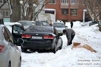 12 января 2015 - Тольятти замело снегом