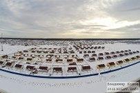 14 января 2015 - Самарская область: Посёлок Уютный с воздуха