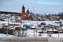 14 января 2015 - Самарская область: Село Мусорка зимой