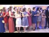 Бал выпускников вузов Брестской области прошел в Пинске