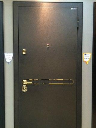 установка дверей металлической двухстворчатых цена