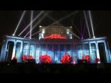 i-MEDIASPB.RU Мэппинг на здании Театра Российской Армии