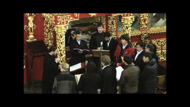 Иже Херувимы АНАСТАСИС Руководитель хора Иеродиакон Феофил Андрей Боголюбов