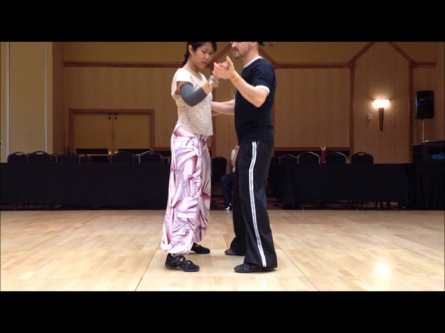 Tango Lesson Close Embrace Surprises (IntermediateAdvanced)