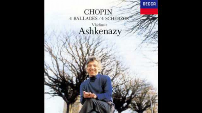 Ashkenazy plays CHOPIN:Scherzos No.1-4