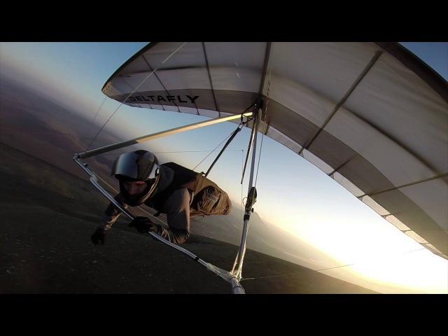 DeltaFly, дельтапланеризм (Юца 2013) hang gliding.
