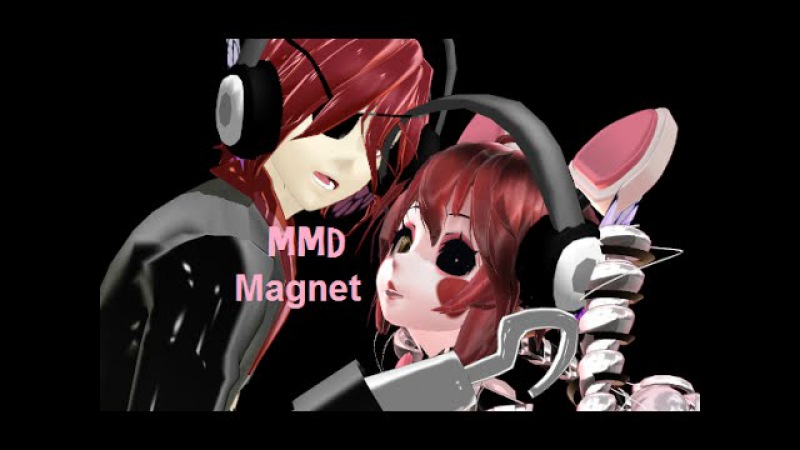 MMD - Five Nights at Freddy's 2- Foxy X Mangle - Magnet