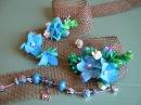 Цветочные миниатюры из фоамирана для декора. Мастер класс. Цветы из фоамиранаю