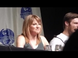 Spartacus Part 2 with Lucy Lawless, Liam Mcintyre, and Manu Bennett DragonCon 2013 Atlanta, GA