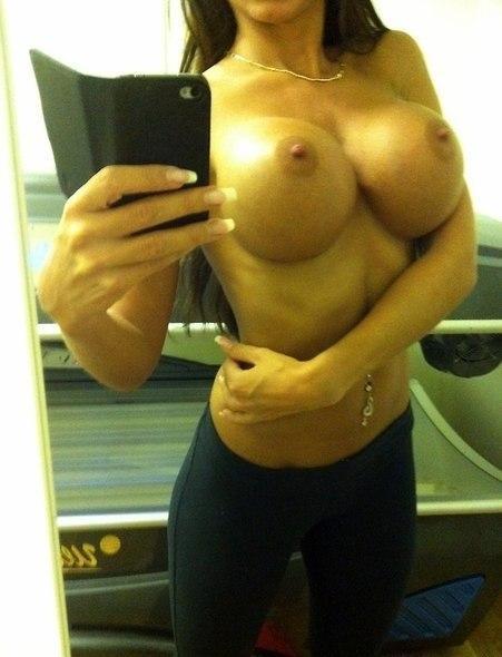 Adrianne black bra changing fun