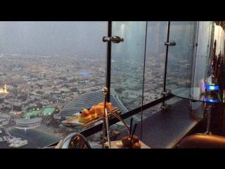Лучший бар с потрясающим видом #SkyViewBar #BurjAlArab #Dubai #UAE