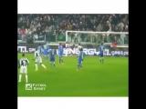 Сумасшедшие удары футболистов