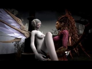 Демон трахает ангела