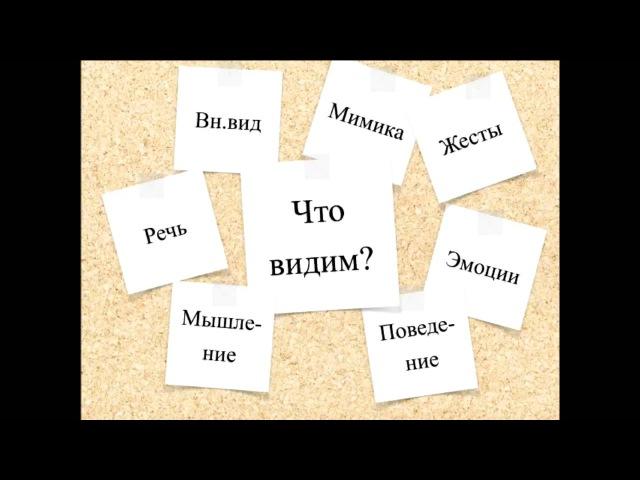 Оперативная психодиагностика личности - тренинг профайлера Ильи Степанова