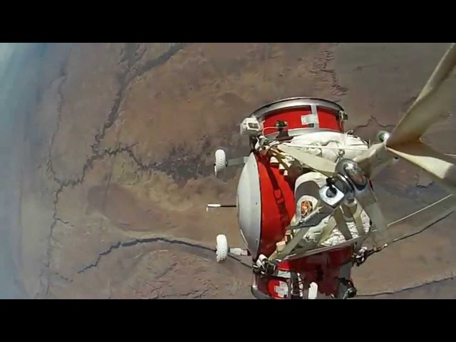 10 Scale Replica Spacecraft Test Flight
