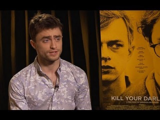 Kill Your Darlings' Daniel Radcliffe & Michael C. Hall Open Up About the Allen Ginsberg Biopic