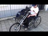 Взгляд с коляски / тест драйв Speedy bike.Senden.18.06.2013.