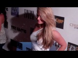 Kristen Dalton, Claire Schreiner, Nicole Williams, Brittany Bell at 'The Critic' Wrap Party