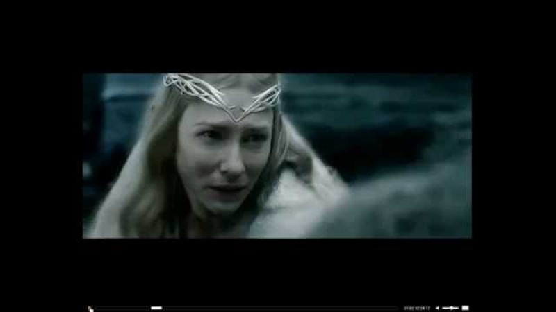 Lady Galadriel Vs Sauron In Dol Guldur HD ! New !