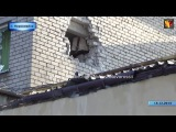 Обстрел г.Первомайска 14.01.15 р-н ул.Островского, ул.Ким  #Новости_Новороссии #ЛНР #ДНР #НКН